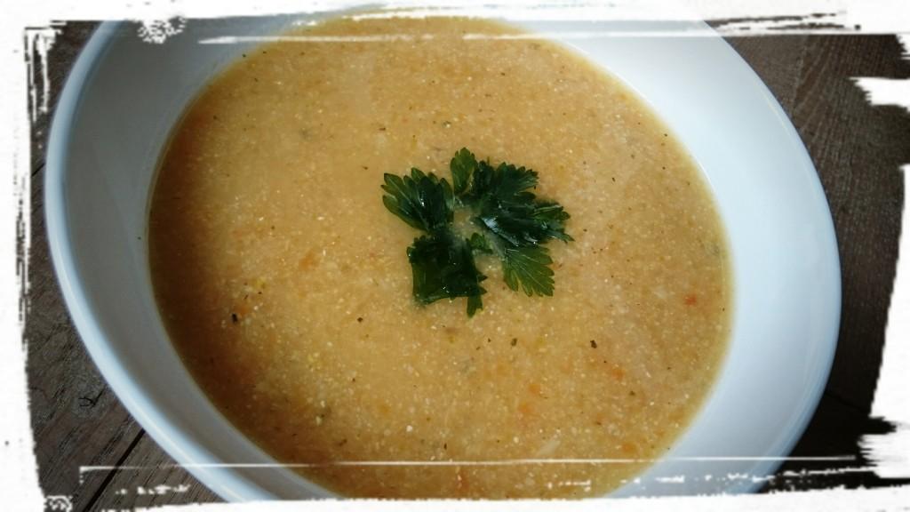 Karfiolová krémová polievka (2)