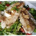Ryba na šaláte (2)